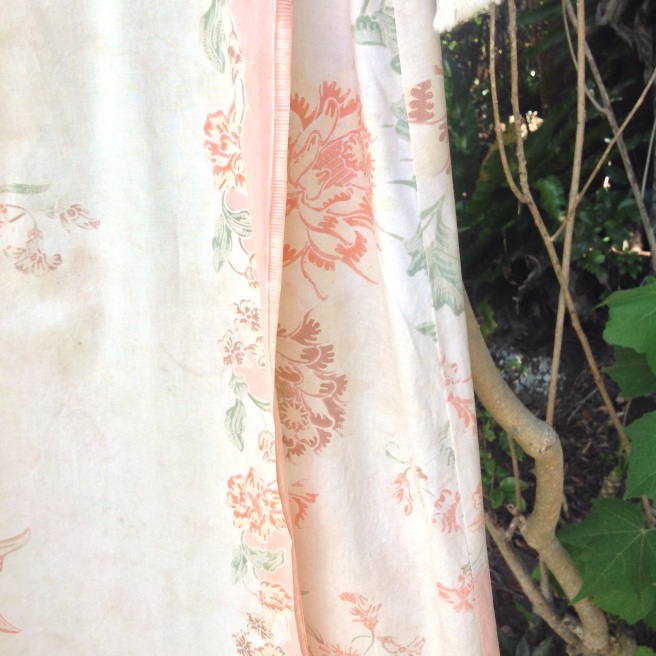 Wrap Skirt (detail) - Vintage Balinese Fabric - Melinda Blair Paterson - 2015